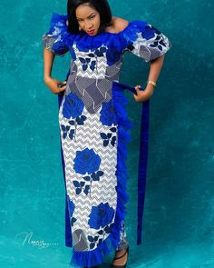 Latest Ankara Dresses, Long African Dresses, African Fashion Skirts, African Fashion Designers, African Print Fashion, Latest Ankara Styles, Ankara Dress Designs, African Fashion Traditional, Popular Outfits