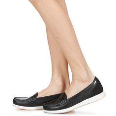 Topánky Ženy Mokasíny Geox AVERY C čierna