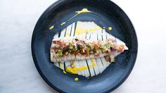 Olio's grilled calamari al limone, ginger, fennel and lemon vinaigrette recipe - 9Kitchen