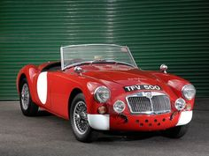 It's a sports car debate dating back nearly sixty years - which is better, the MGA or the Triumph...
