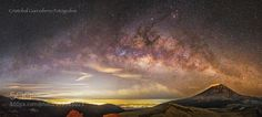 The Milkyway Over The Popocatepetl by CristobalGarciaferroRubio LandScapes Photography #InfluentialLime