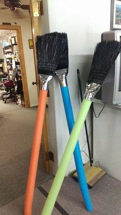 Jumbo brushes