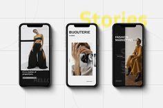 Instagram Design, Instagram Story, Instagram Posts, Mobile Design, App Design, Social Media Template, Promote Your Business, All Fonts, Marketing