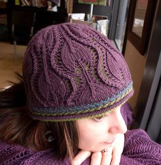 Ravelry: Snowflower Hat pattern by Kirsten Christianson