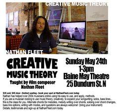 Creative Music Theory class - May 24th, 2015