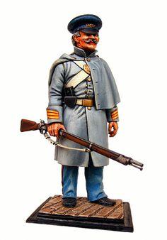 Fanteria di marina unionista, guerra civile americana.