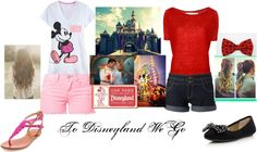 """""""To Disneyland We Go!"""" by cherrypink062 ❤ liked on Polyvore"""