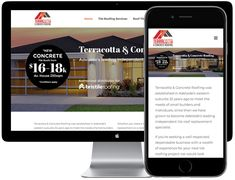 Adelaide's Terracotta Tile Roof Specialists Terracotta Tile, Roofing Services, House Tiles, Digital Strategy, Search Engine Optimization, Internet Marketing, Concrete, Australia, Online Marketing