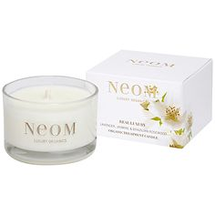 No place like home: Gift-List classics and luxuries for home-lovers: Neom Real luxury scented travel chandle #johnlewis #home #scent Registering your list is free and easy - simply call or visit your local shop, or go online: www.johnlewisgiftlist.com