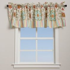 Shop for Greenland Home Fashions Esprit Spice Floral and Striped Cotton Window Valance. Free Shipping on orders over $45 at Overstock.com - Your Online Home Decor Outlet Store! Get 5% in rewards with Club O! - 15354324