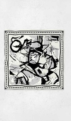 LALA BERLIN - Scarf - Cube Canvas Luxury Shop, Pattern Fashion, Print Patterns, Cube, Berlin, Textiles, Canvas, Fabric, Prints