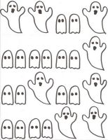 Ghost, ghost, little, ghost! This would make a great flipchart for October
