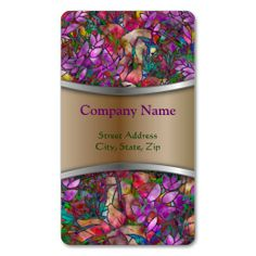 SOLD Business Card Floral Abstract Stained Glass! #Zazzle #Business #Card #Floral #Abstract #Stained #Glass http://www.zazzle.com/business_card_floral_abstract_stained_glass-240628054815040617