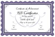 Printable Certificates, Certificate Templates - free award certificates to personalize and print