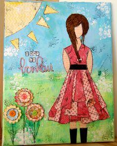 Isabelle, Disney Characters, Fictional Characters, Aurora Sleeping Beauty, Disney Princess, Art, Bonheur, Atelier, Paintings