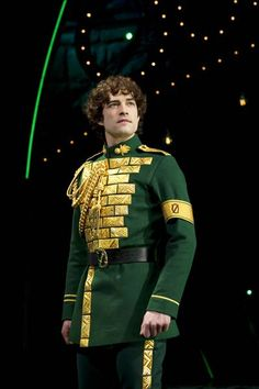 Lee Mead (Fiyero) in the West End production.