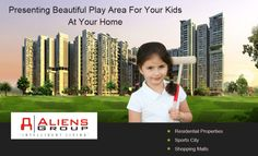 Unveil a vibrant lifestyle at Aliens Space Station that is spectacular, splendid and sensational. It is a home that fulfills your ultimate dream with abundant mix of activities. http://www.aliensgroup.in/html/aliensspacestation.html