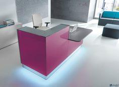 Reception desks | Entrance-Reception | Linea | MDD | J.. Check it out on Architonic