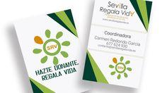 Impresión de 1000 tarjetas de visita para la plataforma SRV SEVILLA REGALA VIDA