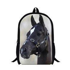 7e1aedc5aa Dispalang 16 Inch Multifunction Knapsack Brand Designer School Bag For  Teenager Girls Boys Cute Horse Printing Backpack Mochilas
