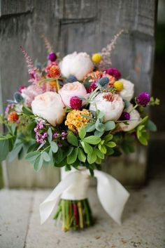 18 Bohemian Wedding Bouquets That Are Totally Chic ❤️ See more: http://www.weddingforward.com/bohemian-wedding-bouquets/ #weddings