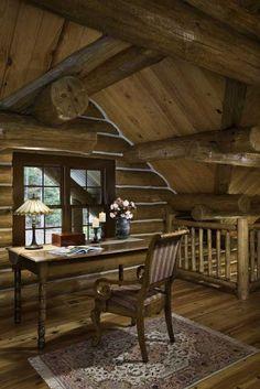 Alkemie: A Log Home in Shenandoah