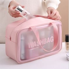 Makeup Storage Pouch, Cosmetic Storage, Bag Storage, Cosmetic Bag, Men Shower, Make Up Storage, Great Gifts For Women, Beauty Case, Waterproof Makeup