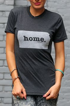 The Home. T - Kansas Home T, $28.00 (http://www.thehomet.com/kansas-home-t-shirt/) #TheHomeT
