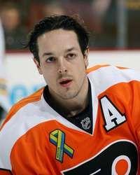 Danny Briere, Philadelphia Flyers on 4/23/2013