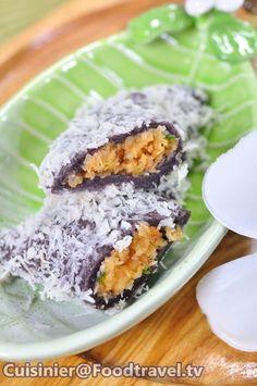 Thai Appetizer, Asian Appetizers, Asian Desserts, Thai Recipes, Fruit Recipes, Dessert Recipes, Thai Dessert, Dessert Dishes, Thai Dishes