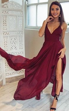 Red 'Die For Me' Maxi Dress