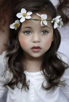 adorable little flower princess. Have you ever seen one so darling?