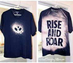 #bleaching #t-shirt