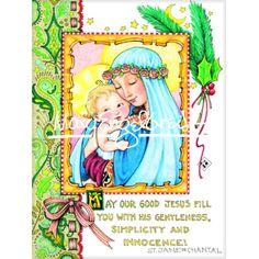 Christmas Magnet: Gentleness, Simplicity & Innocence