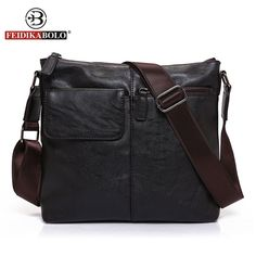 82f5f5d11cc8 FEIDIKA BOLO Brand Messenger Bag Men Shoulder Bag Man Satchels Handbags PU  Leather Sling Bags designer Men Crossbody Bags Price  62.00   FREE Shipping  ...