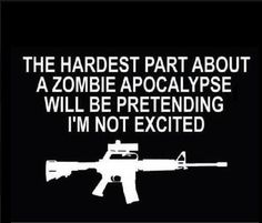 A Dystopian Zombie Apocalypse survival Novel similar to the Walking Dead. A family is separated during an outbreak. Zombie Walk, Dead Zombie, Zombie Squad, Funny Zombie, The Walking Dead, Zombies, No Kidding, Shilouette Cameo, Gun Humor