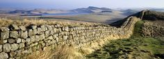 Hadrian's Wall. Romans in Britain, fighting the locals.