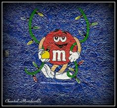 M & M Chocolate Emballage
