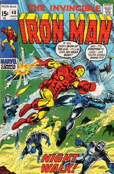 Iron Man #40. #IronMan  Auction your comics on http://www.comicbazaar.co.uk