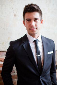 sharp modern groom #wedding | Eric Boneske