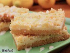 Citrus Bars- easy, starts with a cake mix