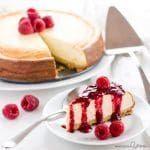 Low Carb Cheesecake (Keto, Gluten-free, Sugar-free)