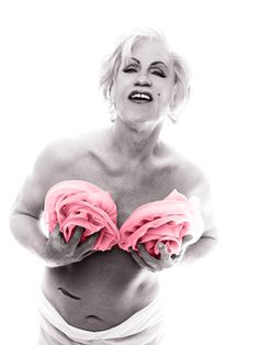 Sandro Miller: Bert Stern / Marilyn in Pink Roses (from The Last Session, 1962), 2014