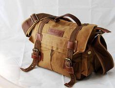 BBK-2 Canvas DSLR Camera Bag Shoulder Messenger Bag For Sony Canon Nikon