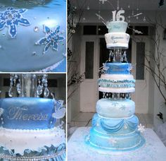 winter wonderland decorations for sweet 16 | Winter Wonderland