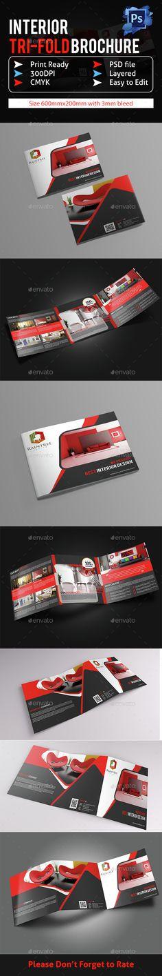 Buy Interior Design Brochure Template by themexone on GraphicRiver. Brochure Design, Brochure Template, Layout Design, Print Design, Graphic Design, Company Profile Design, Portfolio Covers, Catalog Design, Business Brochure