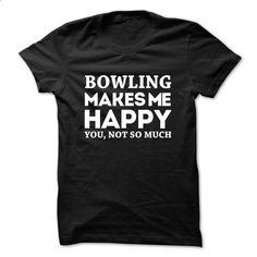 Awesome Bowling Shirt - custom t shirt #tee design #sweatshirts