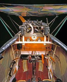 Detail. Fokker D.VII Cockpit: