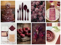 Wedding Ideas & Indpiration | Marsala is a subtly seductive shade, one that draws us into its embracing warmth.
