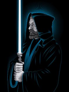 Star Wars Obi-Wan Kenobi Art Print by Nathan Owens